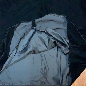 J. Crew Dresses - J. Crew black velvet shift dress size 14